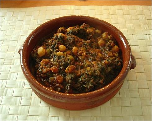 espinacas-garbanzos-tomate