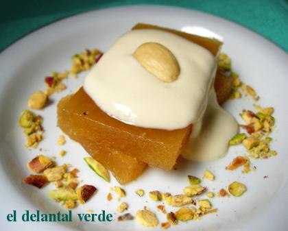 membrillo-con-salsa-de-jenjibre-y-limon