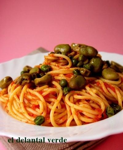 espaguetis-con-habas-y-guisantes2