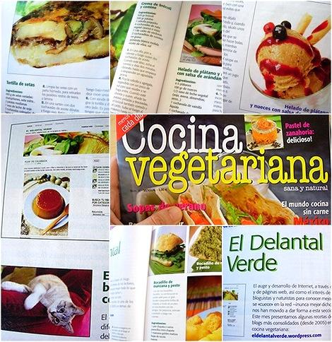 El delantal verde cocina 100 vegetariana de la palabra for Blogs cocina vegetariana